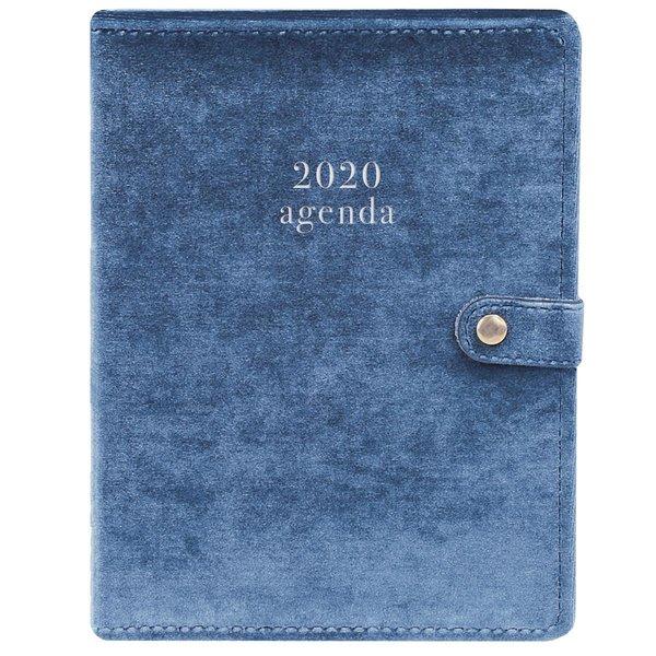 Graphique de France Blue Velvet Snap Cover Planner Agenda 2020