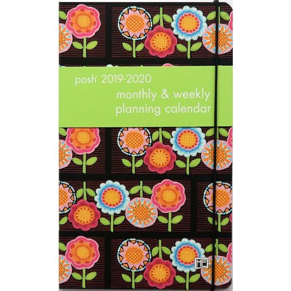 Andrews McMeel Posh Flower Power Monthly/Weekly Planning Agenda 2020