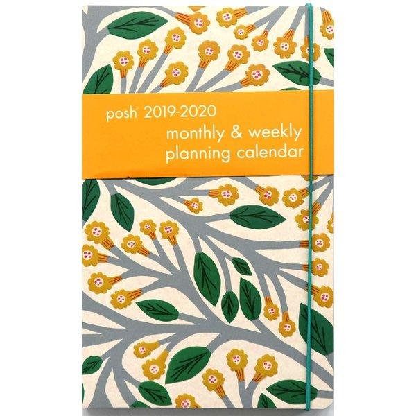 Andrews McMeel Posh Trumpet Vines Monthly/Weekly Planning Agenda 2020