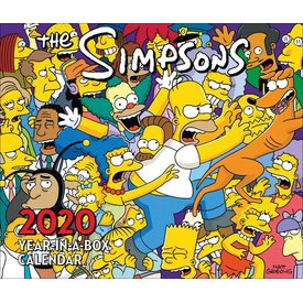 Danilo The Simpsons Page-A-Day Kalender 2020