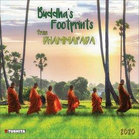 Tushita Buddha's Footprints Kalender 2020
