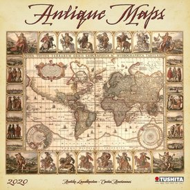 Tushita Historische Landkarten Kalender 2020