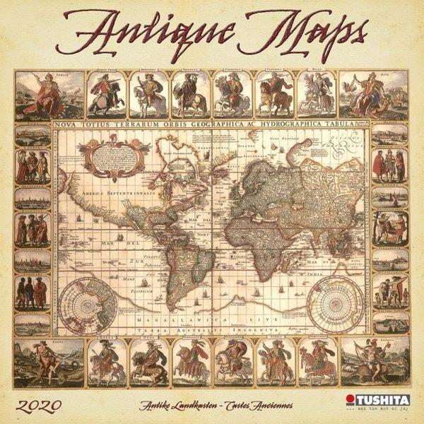 Tushita Antique Maps Kalender 2020