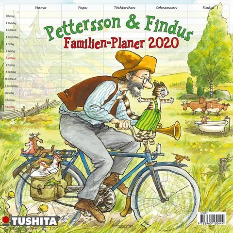 Pettersson & Findus Familieplanner 2020