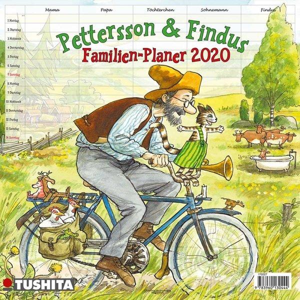 Tushita Pettson en Findus - Pettersson & Findus Familieplanner 2020
