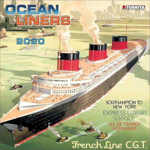 Oceaanstomers - Ocean Liners Kalender 2020