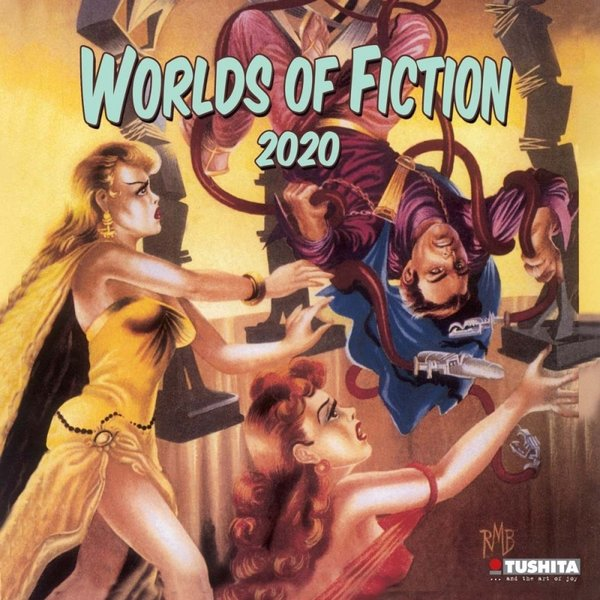 Tushita Worlds Of Fiction Kalender 2020