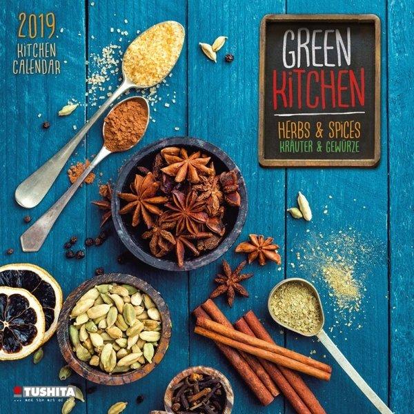 Tushita Green Kitchen - Kräuter & Gewürze Kalender 2020