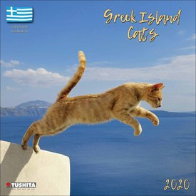 Tushita Greek Island Cats Kalender 2020