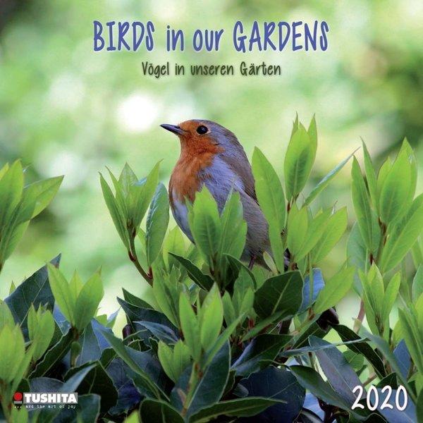 Tushita Vogels - Birds in our Garden Kalender 2020