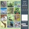 Die Vögel in unseren Gärten Kalender 2020