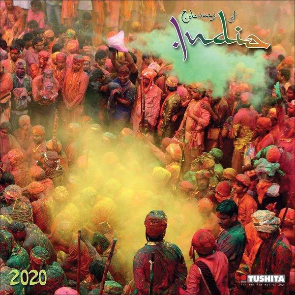 Tushita Die Farben Indiens Kalender 2020