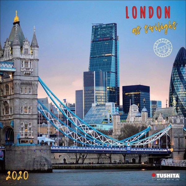 Tushita London at Twilight Kalender 2020