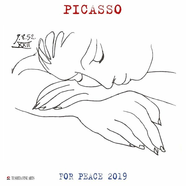 Tushita Pablo Picasso War and Peace Kalender 2020