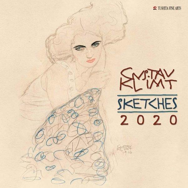 Tushita Gustav Klimt Sketches Kalender 2020