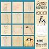 Gustav Klimt Sketches Kalender 2020