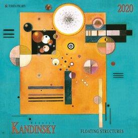 Tushita Wassily Kandinsky Floating Structures Kalender 2020