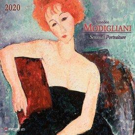 Tushita Amedeo Modigliani Sensual Portraits Kalender 2020