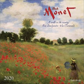 Tushita Claude Monet A Walk in the Country Kalender 2020