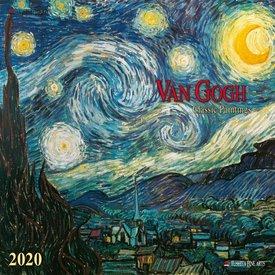 Tushita Van Gogh Classic Works Kalender 2020