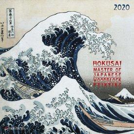 Tushita Hokusai Japanese Woodblock Painting Kalender 2020