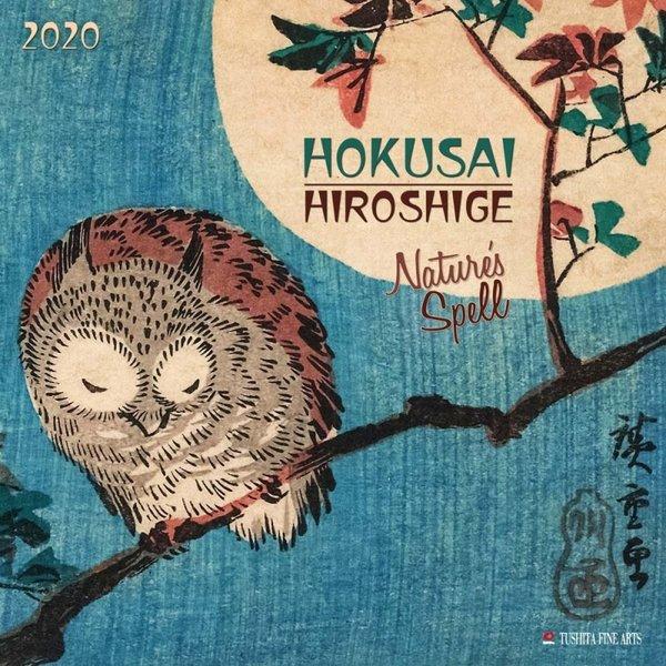 Tushita Hokusai Hiroshige - Nature's Spell Kalender 2020