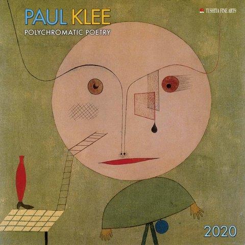 Paul Klee Polychromatic Poetry Kalender 2020
