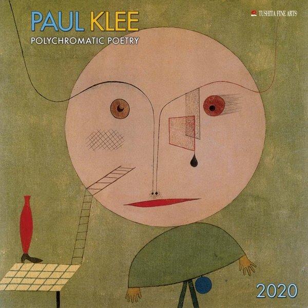 Tushita Paul Klee Polychromatic Poetry Kalender 2020
