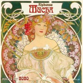 Tushita Alphonse Mucha Poster Art Kalender 2020