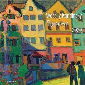 Tushita Wassily Kandinsky Figuratives Kalender 2020