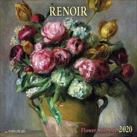 Tushita Auguste Renoir Blumen Kalender 2020