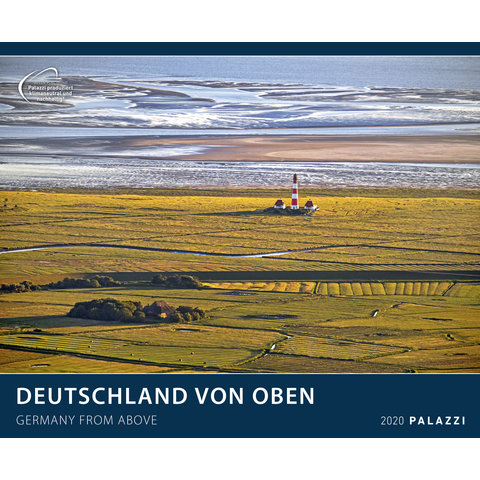 Deutschland von Oben Plakatkalender 2020