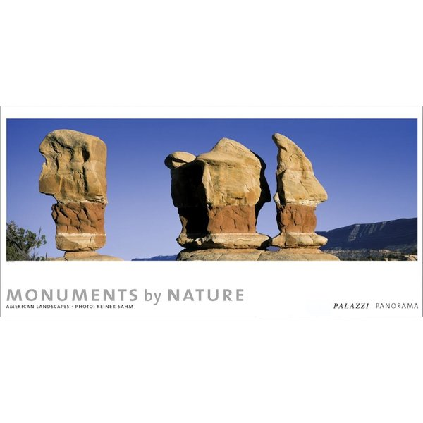 Palazzi Monuments By Nature American Landscapes Tijdloze Posterkalender