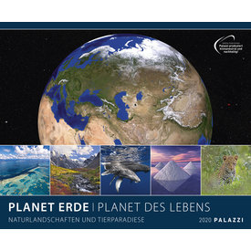 Palazzi Planet Erde Plakatkalender 2020