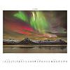 Polarlicht Aurora Borealis Plakatkalender 2020