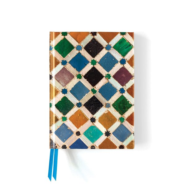 Flame Tree Alhambra Tile Notebook