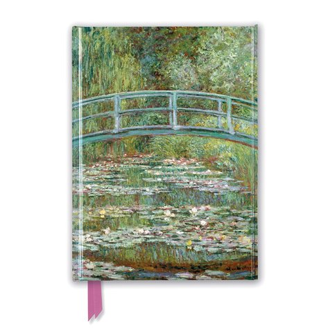 Claude Monet: Bridge over a Pond of Water Lilies Notebook
