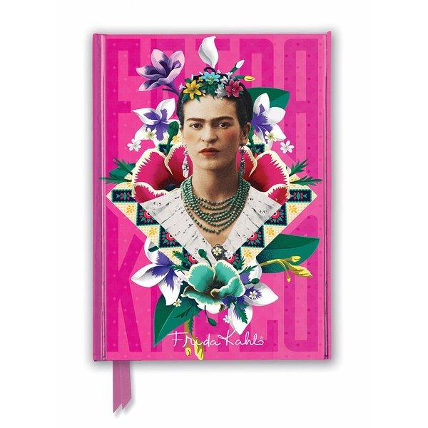 Flame Tree Frida Kahlo Pink Notebook