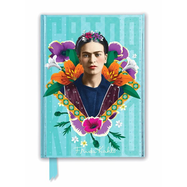 Flame Tree Frida Kahlo Blue Notebook