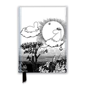 Flame Tree Moomin and Snorkmaiden Family Moomintroll Notebook