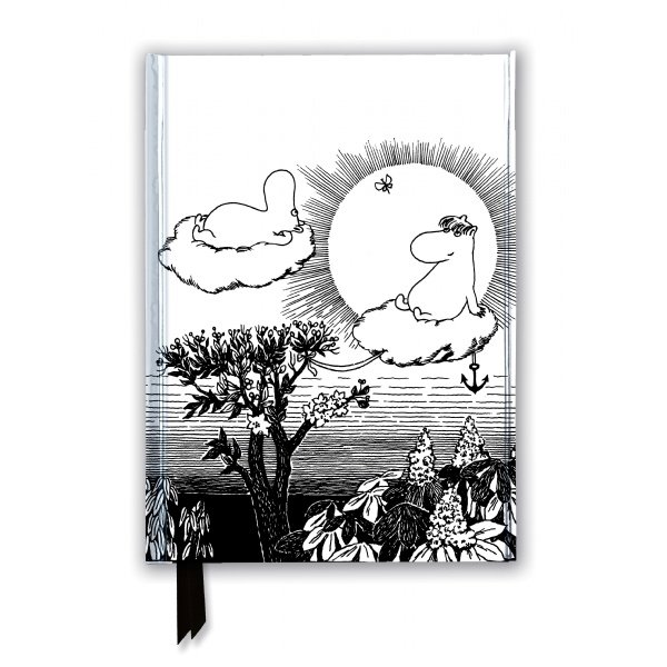 Flame Tree Moomin and Snorkmaiden from Finn Family Moomintroll Notizbuch