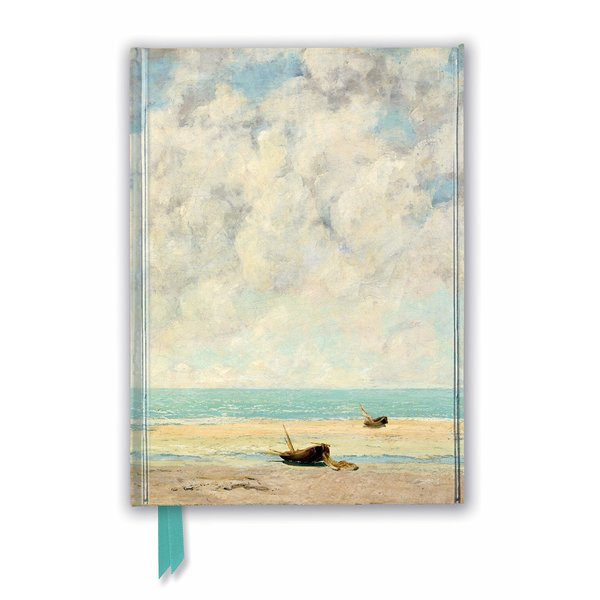 Flame Tree Gustave Courbet: The Calm Sea Notizbuch