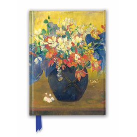 Flame Tree A Vase of Flowers by Paul Gauguin Notebook