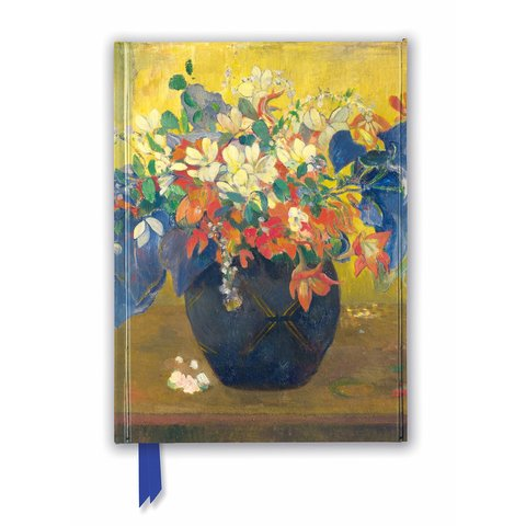 A Vase of Flowers by Paul Gauguin Notebook