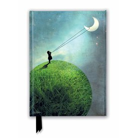 Flame Tree Catrin Welz-Stein: Chasing the Moon Notebook