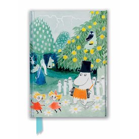Flame Tree Moomin: Cover of Finn Family Moomintroll Notebook