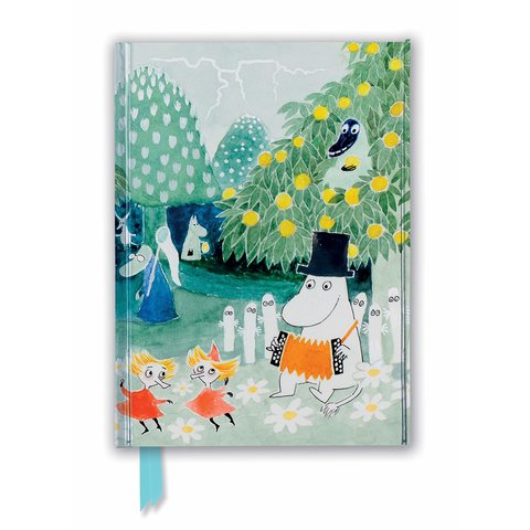 Moomin: Cover of Finn Family Moomintroll Notebook