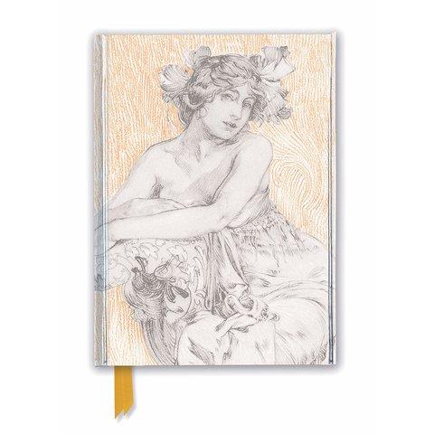 Alphonse Mucha: Décoratifs Plate 12 Notebook