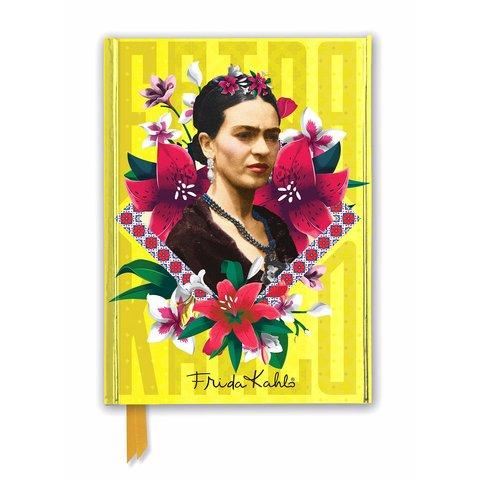 Frida Kahlo Yellow Notebook