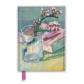 Flame Tree Van Gogh: Flowering Almond Branch Notebook